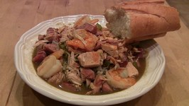 Chicken and Sausage Gumbo Homemade