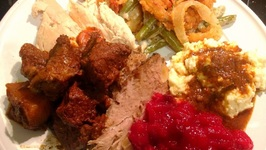 What's On My Plate-Low Carb Thanksgiving