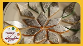 Homemade Kaju Katli  Indian Sweet  Recipe by Archana in Marathi  Kaju Barfi  Easy To Make