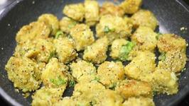 Bafela Kobi Na Muthiya  Steamed Cabbage Dumplings