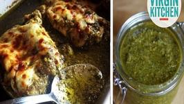 Homemade Pesto And Chicken Pesto Bake