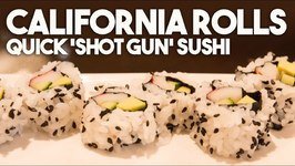 California Roll - Shotgun Sushi Style Roll By Sang Kim