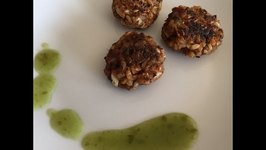 How to use leftover rice and lentils Rice and Lentils Tikki
