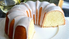 Moscato Pound Cake- Old Fashioned Pound Cake Recipe With A Moscato Twist