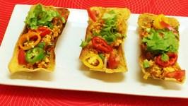 Tofu Fiesta Flats Video Recipe