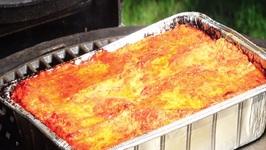 Lasagna - Sartori Cheese - Kamado Joe