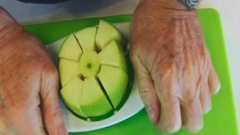 Betty's Quick Tip 120 -- How to Core and Dice an Apple