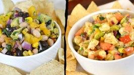 Shrimp Salsa Recipe Black and White Bean Salsa Recipe