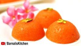 Rava Kesari Recipe - Sooji Kesari -Semolina Kesari - Indian SweetsGanesh Chaturthi