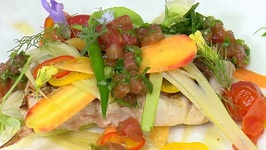 Jonathan Cartwright - Grilled Gulf Snapper With Dessert Specialties