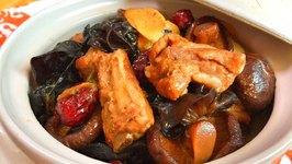 The BEST Braised Pork Ribs and Mushrooms Recipe