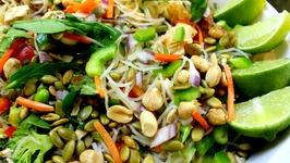 Cold Bihon Rice Noodle Salad