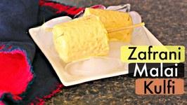 Zafrani Malai Kulfi - Indian Classic Ice Cream