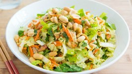 Chinese Chicken Salad- Chinese Takeout at Home Miniseries