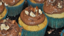How To Make Nutella Filled Cupcakes With Nutella Frosting