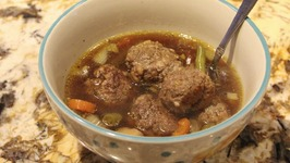 Soup  Meatball Soup With Vegetables