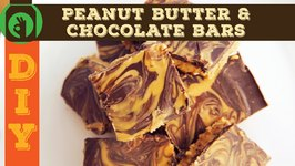 DIY - Peanut Butter And Chocolate Bars