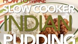 How To Make Slow Cooker Indian Pudding