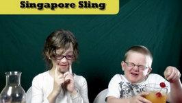 Singapore Sling Mocktail Recipe (Virgin, Non-Alcoholic)