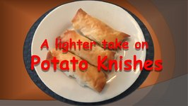 A Lighter Take on Potato Knishes