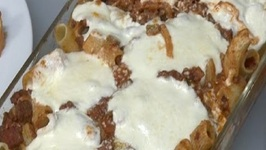 Baked Ziti with Bolognese Sauce