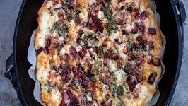 Smokey Western Bacon Pizza