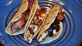 Baby Back Rib Meat Street Tacos