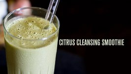 Citrus Cleansing Smoothie With Yummy Hemp Seed Milk