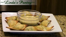 WonTon Poppers For The Holidays