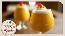 Mango Mastani  Quick Homemade Cold Beverage  Milkshake  Recipe by Archana in Marathi