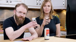 24 Beers Project Episode 19 Left Field Brewery - Eephus Oatmeal Brown Ale