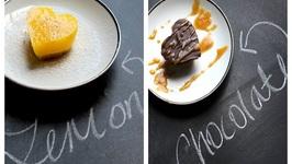 2 Easy No Bake Bars - Lemon Bar And Chocolate Ganache Bar