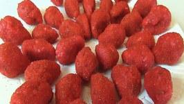 Betty's Candy Strawberries -- Valentine's Day