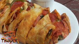 Grilled Stromboli - How To Cook a Stromboli On a Weber Grill