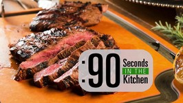 90 Second Grilled Aussie Leg Of Lamb