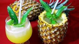 Refreshing Pineapple Drink Best Summer Treats Summer Drinks