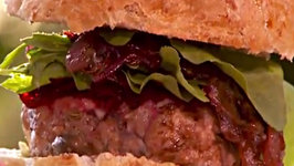 Sage and Fennel Pork Burgers with Caramelised Onion