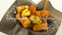 Croquetas de Verduras Caseras  Recetas con Verduras faciles  Recetas de Verduras chefdemicasa