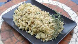 Paleo Rosemary Cauliflower Pilaf