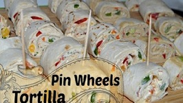 2 Types Pin Wheel Party Appetizer