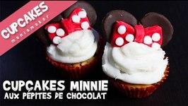 Cupcakes Minnie aux ppites de chocolat