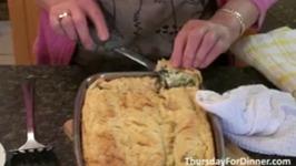 Cheese Spinach Pie