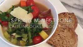 Spring Minestrone With Leeks  Budget Bites Episode Number 2