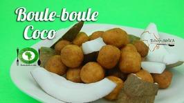 Boule boule à la noix de coco(Côte d'Ivoire)