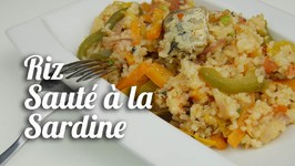 Riz Sauté À La Sardine