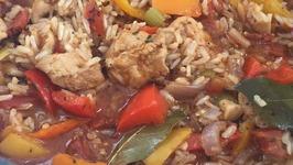 Creole Chicken Jambalaya  One Pot Meal  Easy Weeknight Dinner