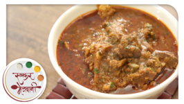 Spicy Mutton Curry  Recipe by Archana  Restaurant Style  Easy Indian Main Course in Marathi
