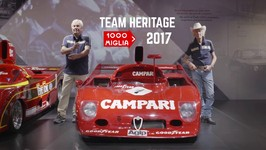 FCA Heritage at the Mille Miglia 2017