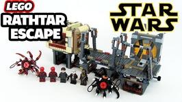 Lego Star Wars Rathtar Escape Review Set 75180