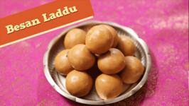 Besan Laddu  Diwali Special Indian Sweet Recipe  Divine Taste With Anushruti